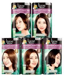 Liese Hair Dye Color Chart Details About Liese Blaune Kao Japan Treatment Cream Color Gray Coverage Hair Dye Kit New
