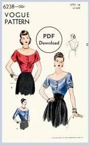 Apparel design Design Vogue patterns Jumpsuit pattern Women's sewing  patterns Draping Vintage patterns Har… in 2020 | Vintage naaipatronen,  Vintage blouse, Vintage patronen