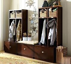 Entry Hall Tree Coat Rack Storage Bench Seat Mudroom Bench Storage Plans Entryway With Shoe Small Narrow 68