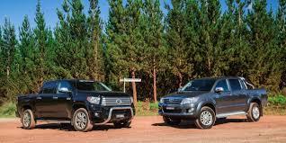 Toyota HiLux v Toyota Tundra : Comparison review - Photos