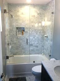 tub shower surrounds digitaldimensions co fabulous glass shower enclosure kits bathtub