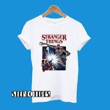Stranger Things Mike Dustin Lucas Eleven Will Print T-Shirt