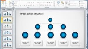 Organizational Chart Maker Powerpoint Different Types Of Organizational Structures And Charts