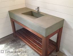diy sink vanity for modern concept sink traditional bathroom sinks new york by trueform