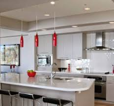 modern white kitchen ceiling lighting
