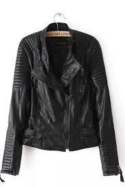 Black Faux Leather Moto Jacket | Black faux leather, Leather and ... & Black Faux Leather Moto Jacket Adamdwight.com