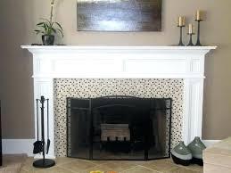 decoration how to cover a fireplace surround and make a mantel how tos diy regarding