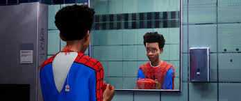 miles mes shameik moore in columbia pictures and sony pictures animation s spider man into the spider verse