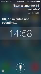 Start 15 Minute Timer How To Start Stop A Timer On Iphone Ipad With Siri For