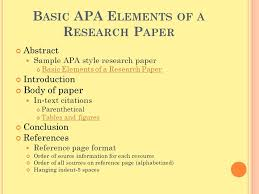 How to write an APA Style Research Paper tutorial Essay Help Resume  Examples Term Paper Title
