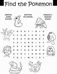 Small Picture Pokemon coloring page brings you some Pokemon themed activity