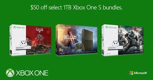 Xbox One S 1tb Special Editions Get A Last Minute Spring Sale