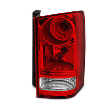 2006 Honda Pilot Brake Light Bulb Replacement For Honda Pilot Red Clear Rear Tail Light Brake Tail Lamp Passenger Right Side Replacement Assembly