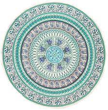 now you are looking at our article regarding indian print mandala round cotton tablecloth 70