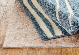 rug pads protect the flooring beneath from scratches that can be caused from rough rug backings and protect your carpet from color transfer