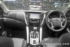 2018 mitsubishi pajero interior. wonderful 2018 2017 mitsubishi pajero sport interior dashboard at 2016 thai motor expo intended 2018 mitsubishi pajero