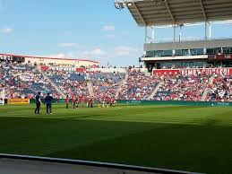 Seatgeek Stadium Section 108 Row 1 Seat 20 Chicago Fire