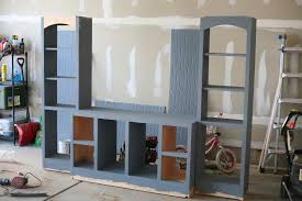 wall units diy entertainment center idea diy built in inside entertainment center wall unit plans for