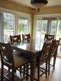net tall kitchen table with 6 chairs