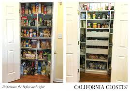 california closets pantry ideas