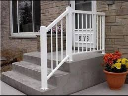 ... Outside Stair Railing # Outdoor Stair Railing Aluminum It Outdoor Stair  Railing Atlanta