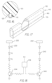 US06592238 20030715 D00009 patent us6592238 illumination device for simulation of neon on kichler under cabinet lighting wiring diagram