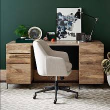 Modern Desks West Elm Photo Details - These gallerie we provide to show  that the Modern
