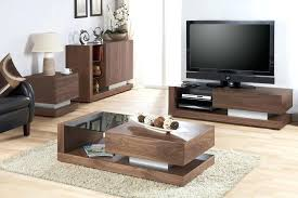 coffee table and tv stand set cfee white glass wooden