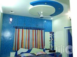 Small Picture World Best Pop Ceiling Decoration in Lagos Mainland Building