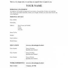 Resume Outline Extraordinary Perfect Resume Professional Resume Outline Easy Resume Outline