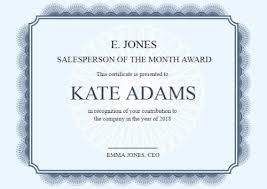 Achievement Certificate Make Your Own Certificate Of Achievement In Seconds