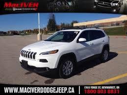 jeep 2015 white. Beautiful White 2015 White Jeep Cherokee North Newmarket Ontario  MacIver Dodge For T