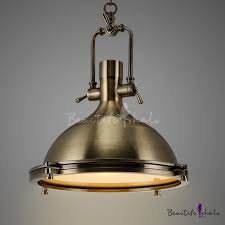nautical pendant light in antique bronze with frosted diffuser beautifulhalo com
