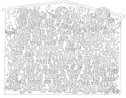Scripture Coloring Pages With Bible Book Pdf Also Verse Kids