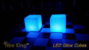 Glow Furniture Led Glow Cube Hire Perth Illuminated Furniture Hire Youtube