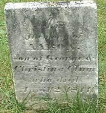 Aaron Clum (1822-1841) - Find A Grave Memorial