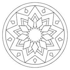 Small Picture Awesome Collection of Printable Simple Mandala Coloring Designs