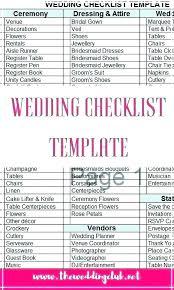 Wedding Coordinator Checklist Artist Performance Venue Comparison Spreadsheet Wedding