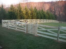 wooden farm fence. Wood Fencing Maryland Wooden Farm Fence H