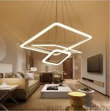 Pendant lighting for living room Bedroom Image Is Loading Modernsquareledpendantlightslivingroomdining Street Modern Square Led Pendant Lights Living Room Dining Room Aluminum