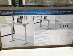 excellent desks at costco bestar uptown ii bark grey height adjule with additional costco office table