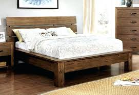 Rustic King Size Bed Frame — Katie Connors Home Ideas ...