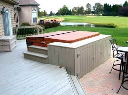 Backyard Decking Designs Cool Elevated Deck Design Elevated Concrete Deck Concrete Deck Design