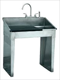 outdoor utility sink with cabinet for garden essentials