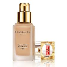 Elizabeth Arden Colour Chart Foundation Flawless Finish Perfectly Satin 24hr Make Up 30ml