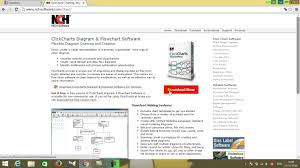 How To Clickcharts Diagram Flowchart Youtube