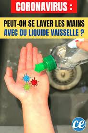 coronavirus le liquide vaisselle est