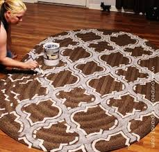 carpet paint. how to stencil paint carpet, crafts, to, reupholster carpet 0