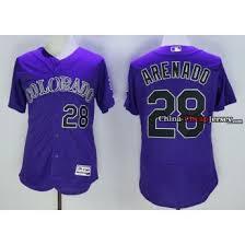 Nolan Jersey Arenado Purple Nolan Arenado