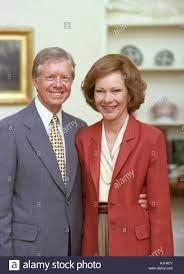 US-Präsident Jimmy Carter mit seiner ...